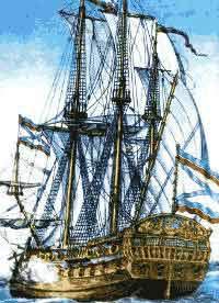 Первый линейный корабль русского